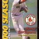 2000 BOSTON RED SOX POCKET SCHEDULE NOMAR GARCIAPARRA