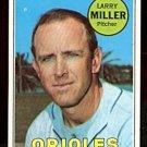 BALTIMORE ORIOLES LARRY MILLER 1969 TOPPS # 323 EX/EM