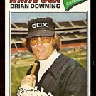CHICAGO WHITE SOX BRIAN DOWNING 1977 TOPPS # 344 EX MT