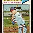TEXAS RANGERS JIM SUNDBERG 1977 TOPPS # 351 VG