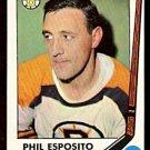 BOSTON BRUINS PHIL ESPOSITO (+ ESPO STAMP) 1969 TOPPS # 30