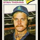 SEATTLE MARINERS STAN THOMAS 1977 TOPPS # 353 VG