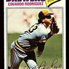 MILWAUKEE BREWERS EDUARDO RODRIGUEZ 1977 TOPPS # 361 VG