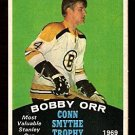 BOSTON BRUINS BOBBY ORR CONN SMYTHE TROPHY 1970 OPC # 252 O PEE CHEE