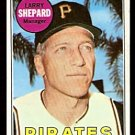 PITTSBURGH PIRATES LARRY SHEPARD 1969 TOPPS # 384 EX+