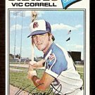 ATLANTA BRAVES VIC CORRELL 1977 TOPPS # 364 VG