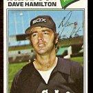 CHICAGO WHITE SOX DAVE HAMILTON 1977 TOPPS # 367 VG/EX