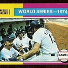 WORLD SERIES GAME 2 LOS ANGELES DODGERS DUGOUT 1975 TOPPS # 462 VG