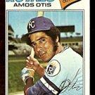 KANSAS CITY ROYALS AMOS OTIS 1977 TOPPS # 290 EX