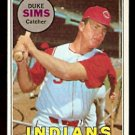 CLEVELAND INDIANS DUKE SIMS 1969 TOPPS # 414 VG