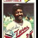 MINNESOTA TWINS LARRY HISLE 1977 TOPPS # 375 VG