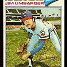 TEXAS RANGERS JIM UMBARGER 1977 TOPPS # 378 G/VG