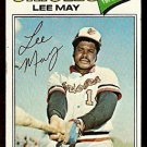 BALTIMORE ORIOLES LEE MAY 1977 TOPPS # 380