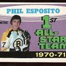 BOSTON BRUINS PHIL ESPOSITO ALL STAR 1971 OPC O PEE CHEE # 253 NR MT