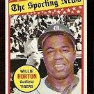 DETROIT TIGERS WILLIE HORTON ALL STAR 1969 TOPPS # 429 NR MT