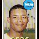 CINCINNATI REDS BOB TOLAN 1969 TOPPS # 448 VG/EX