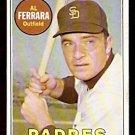 SAN DIEGO PADRES AL FERRARA 1969 TOPPS # 452