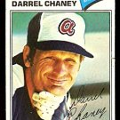 ATLANTA BRAVES DARREL CHANEY 1977 TOPPS # 384 VG