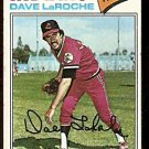 CLEVELAND INDIANS DAVE LaROCHE 1977 TOPPS # 385 good