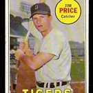 DETROIT TIGERS JIM PRICE 1969 TOPPS # 472 good