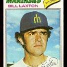 SEATTLE MARINERS BILL LAXTON 1977 TOPPS # 394 G/VG