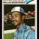 ATLANTA BRAVES WILLIE MONTANEZ 1977 TOPPS # 410 VG