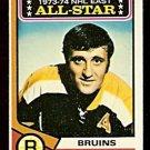 BOSTON BRUINS PHIL ESPOSITO ALL STAR 1974 TOPPS # 129 NR MT