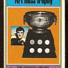 BOSTON BRUINS PHIL ESPOSITO ROSS TROPHY  1974 OPC # 246