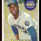 NEW YORK METS CLEON JONES 1969 TOPPS # 512 VG