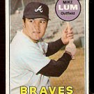 ATLANTA BRAVES MIKE LUM 1969 TOPPS # 514 good