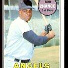 CALIFORNIA ANGELS BOB CHANCE 1969 TOPPS # 523 EX/EM