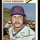 CHICAGO CUBS STEVE SWISHER 1977 TOPPS # 419 EX+