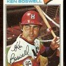 HOUSTON ASTROS KEN BOSWELL 1977 TOPPS # 429 VG