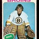 BOSTON BRUINS GILLES GILBERT 1975 OPC # 45 NR MINT O PEE CHEE