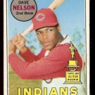 CLEVELAND INDIANS DAVE NELSON 1969 TOPPS # 579 VG