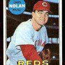 CINCINNATI REDS GARY NOLAN 1969 TOPPS # 581 NR MT