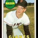 SAN FRANCISCO GIANTS DON MASON 1969 TOPPS # 584 VG/EX