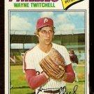 PHILADELPHIA PHILLIES WAYNE TWITCHELL 1977 TOPPS # 444 good