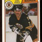 BOSTON BRUINS RAY BOURQUE 1983 OPC # 45 NR MT O PEE CHEE