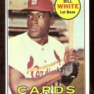 ST LOUIS CARDINALS BILL WHITE 1969 TOPPS # 588 NR MT