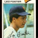 NEW YORK METS LEO FOSTER 1977 TOPPS # 458 good