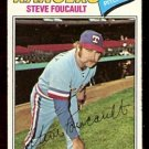 TEXAS RANGERS STEVE FOUCAULT 1977 TOPPS # 459 VG
