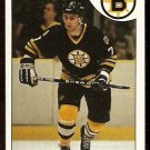 BOSTON BRUINS RAY BOURQUE 1985 TOPPS # 40 NR MT