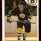 BOSTON BRUINS RAY BOURQUE 1985 OPC # 40 NR MT O PEE CHEE