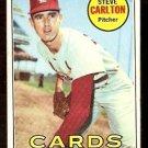 ST LOUIS CARDINALS STEVE CARLTON 1969 TOPPS # 255 VG
