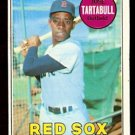 BOSTON RED SOX JOSE TARTABULL 1969 TOPPS # 287 EM+