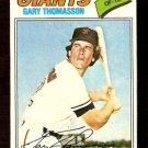 SAN FRANCISCO GIANTS GARY THOMASSON 1977 TOPPS # 496 VG/EX