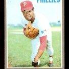 PHILADELPHIA PHILLIES GRANT JACKSON 1970 TOPPS # 6 EX