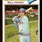 TEXAS RANGERS BILL FAHEY 1977 TOPPS # 511 NR MT
