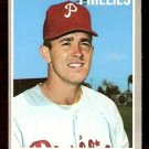PHILADELPHIA PHILLIES BILLY WILSON 1970 TOPPS # 28 VG/EX
